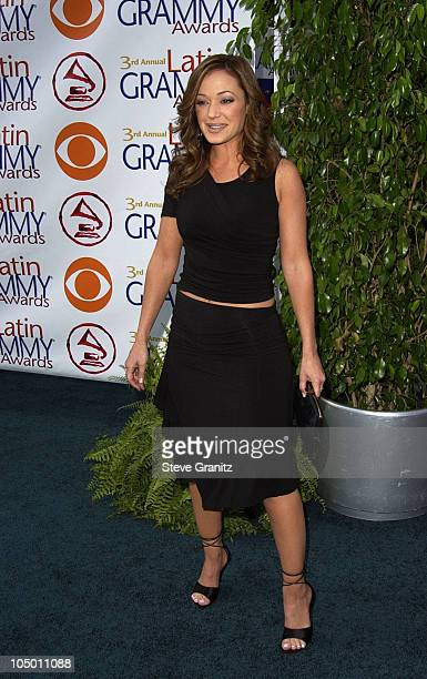 Leah Remini during 3rd Annual Latin GRAMMY Awards Arrivals at Kodak Theatre in Hollywood California United States