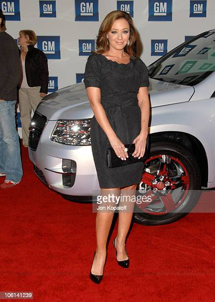 Leah Remini during 6th Annual General Motors TEN Arrivals at Paramount Studios in Hollywood California United States