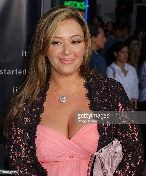 Leah Remini during 'Collateral' Los Angeles Premiere Arrivals at Orpheum Theatre in Los Angeles California United States