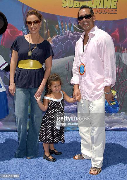 Leah Remini during Finding Nemo Submarine Voyage Opening Arrivals at Disneyland in Anaheim California United States