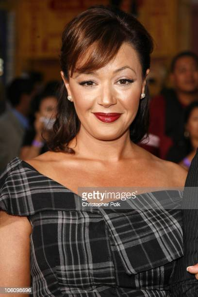 Leah Remini during 'Mission Impossible III' Los Angeles Fan Screening Arrivals at Chinese Theater in Hollywood California United States