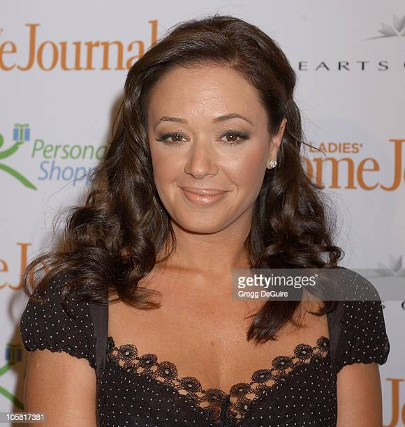 "Leah Remini during Third Annual ""Funny Ladies We Love"" Awards Hosted By Ladies' Home Journal at Cabana Club in Hollywood, California, United States."
