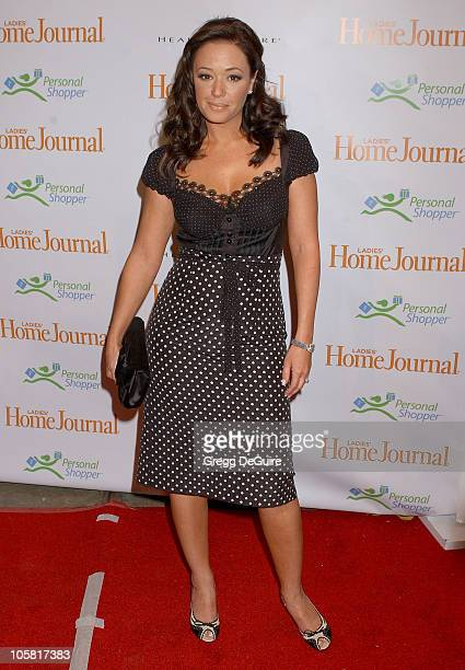 Leah Remini during Third Annual 'Funny Ladies We Love' Awards Hosted By Ladies' Home Journal at Cabana Club in Hollywood California United States
