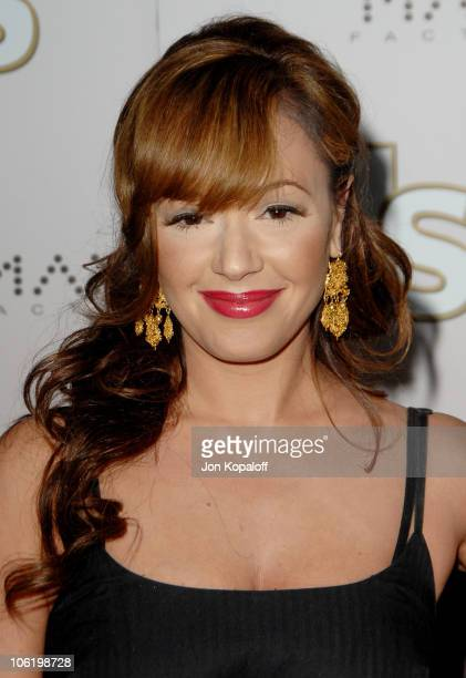 Leah Remini during Us Weekly Presents Us' Hot Hollywood 2007 Arrivals at Sugar in Hollywood California United States