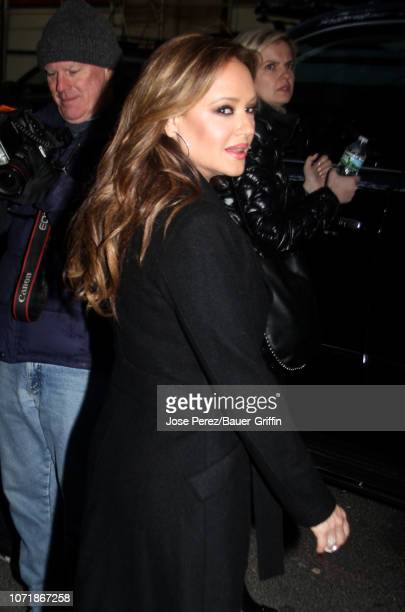 Leah Remini is seen on December 11, 2018 in New York City.
