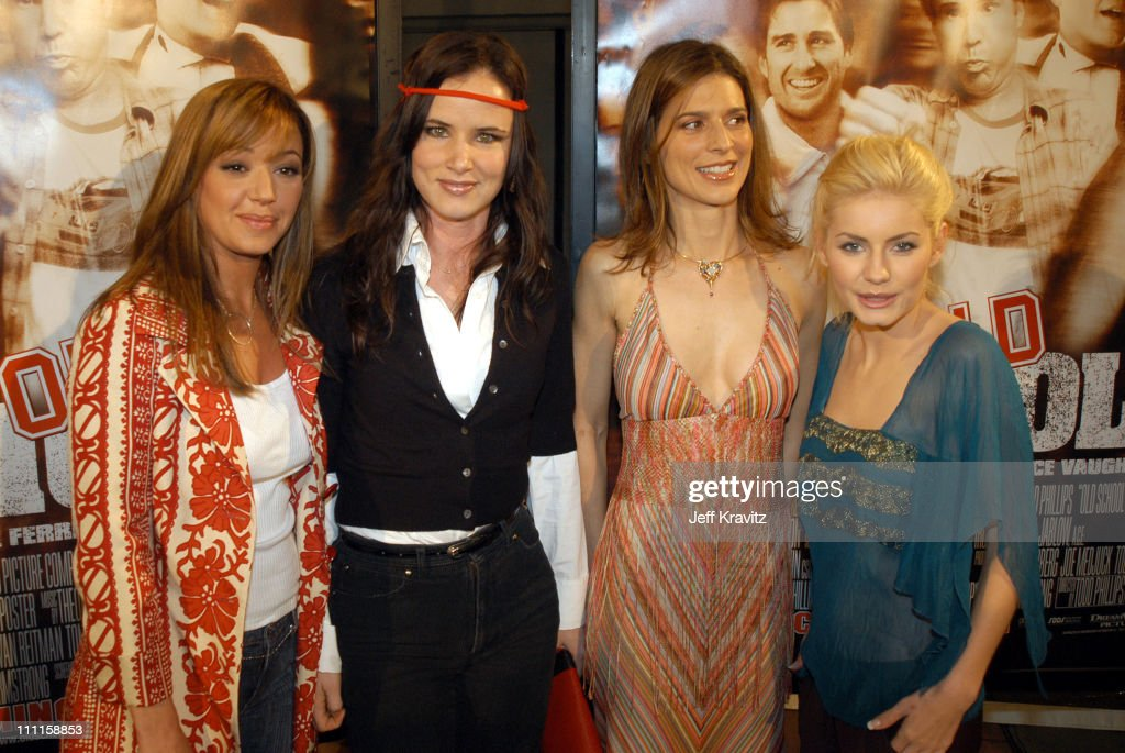 Leah Remini, Juliette Lewis, Perrey Reeves and Elisha Cuthbert