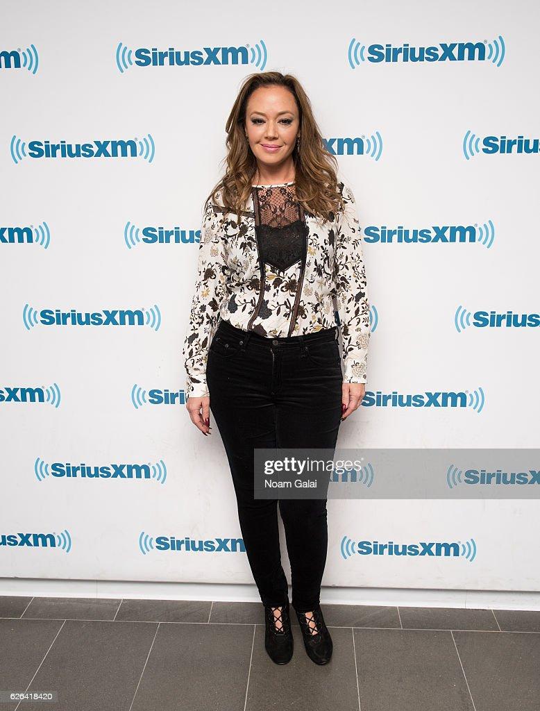 Celebrities Visit SiriusXM - November 29, 2016 : News Photo