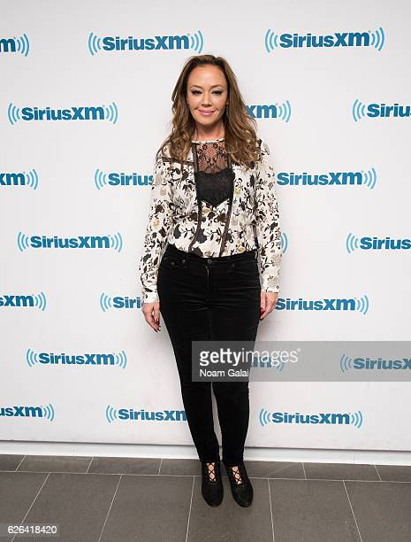 Leah Remini visits the SiriusXM Studio on November 29 2016 in New York City