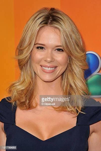 Leah Renee attends the 2011 NBC Upfront at The Hilton Hotel on May 16 2011 in New York City