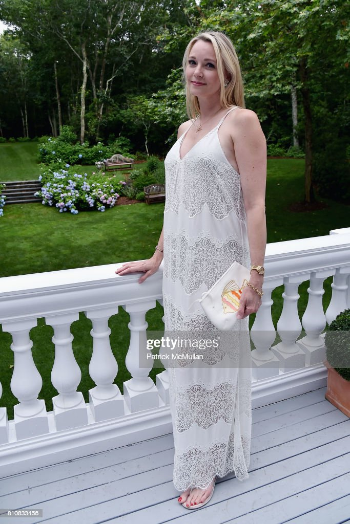 Leah Rumbough attends Katrina and Don Peebles Host NY Mission Society Summer Cocktails at Private Residence on July 7, 2017 in Bridgehampton, New York.