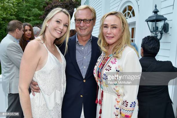 Leah Rumbough Christopher Bickford and Patty Raynes attend Katrina and Don Peebles Host NY Mission Society Summer Cocktails at Private Residence on...