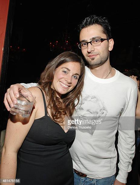 Leah Sushelsky and Antonio Esfandiari during Jason Strauss Celebrates His Birthday at TAO Nightclub at The Venetian Hotel and Casino Resort April 21...