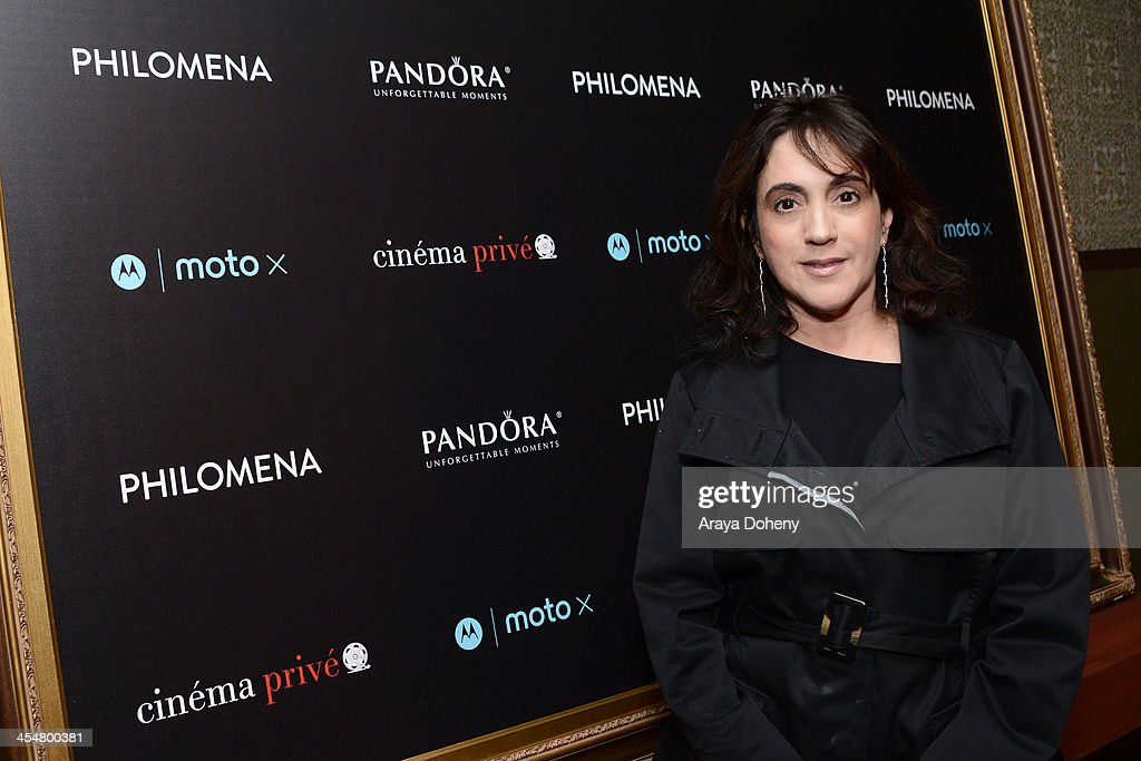 Leah Sydney Attends Pandora Jewelry And Moto X Present Philomena At News Photo Getty Images