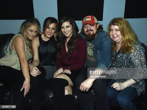 Leah Turner Mary Sarah Colby Dee Andy Buckner and Patrice Majors backstage during ForgetMeNot A Night Of Music For Alzheimer's Awareness at 3rd...