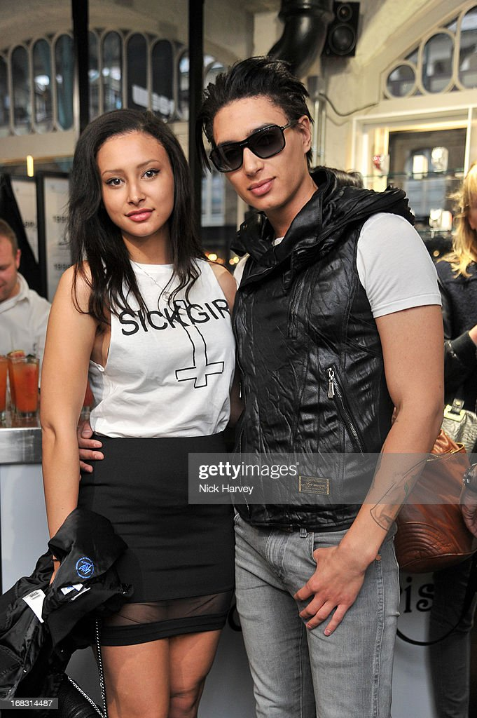 Leah Weller and Natt Weller attend the Casio London Store 1st birthday party on May 8, 2013 in London, England.