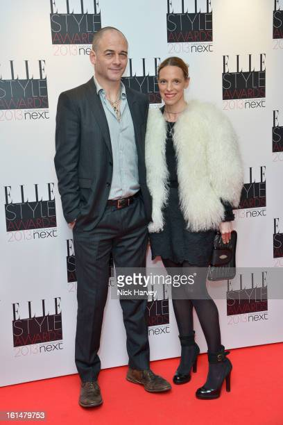 Leah Weller and Tiphaine De Lussy attend the Elle Style Awards 2013 on February 11, 2013 in London, England.