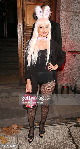 Leah Weller attending The Veuve Clicquot Widow Series launch party on October 28 2015 in London England
