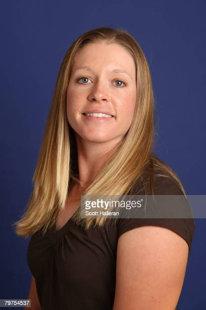 Leah Wigger poses for a portrait during 2007 LPGA Qualifying School on December 1 2007 in Dayton Beach Florida