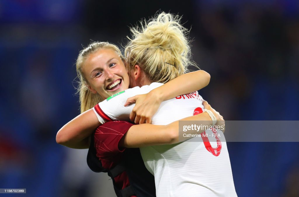 Norway v England: Quarter Final  - 2019 FIFA Women's World Cup France : News Photo