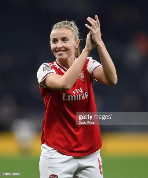 Leah Williamson of Arsenal after the Barclays FA Women's Super League match between Tottenham Hotspur and Arsenal at Tottenham Stadium on November 17...
