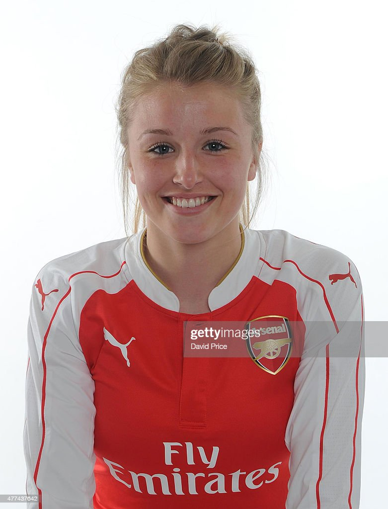 Leah Williamson of Arsenal Ladies poses at London Colney on March 24, 2015 in St Albans, England.