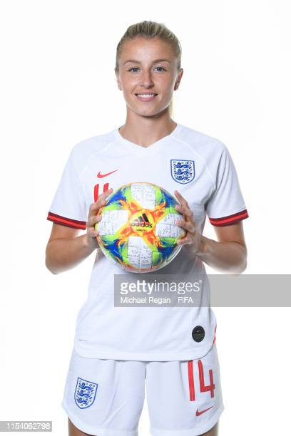 Leah Williamson of England poses for a portrait during the official FIFA Women's World Cup 2019 portrait session at Radisson Blu Hotel Nice on June...