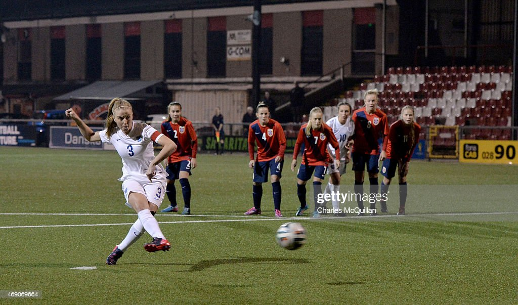 England U19 Retake Last Minute Penalty Against Norway