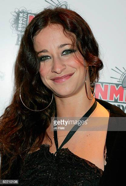 Leah Wood arrives at The Shockwaves NME Awards 2005 at Hammersmith Palais on February 17 2005 in London The annual music awards sees winners decided...