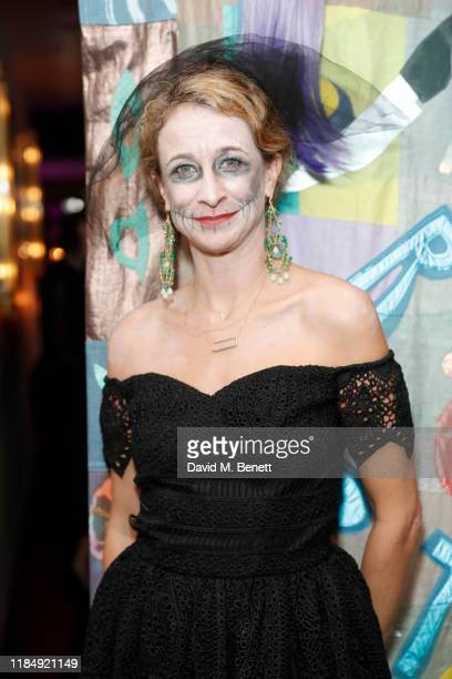 Leah Wood attends Casamigos Tequila 'Day of the Dead' VIP party at The Mandrake Hotel on November 01 2019 in London England