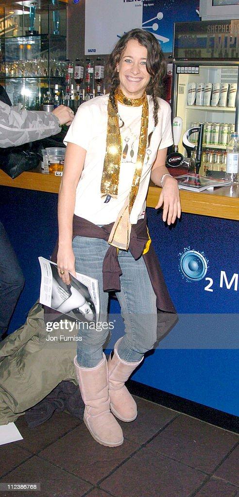 Leah Wood during Hero2Hero Concert Sponsored by O2 at Shepherds Bush Palais in London, Great Britain.