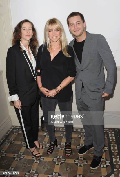 Leah Wood Jo Wood and Tyrone Wood attend 'Heist' launch London's first 'AntiGallery' showcasing fine art photography from around the world on June 12...