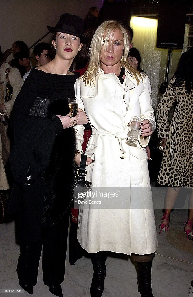 Leah Wood & Meg Mathews, Opening Of The Manolo Blahnik Exhibition At The Design Museum, London