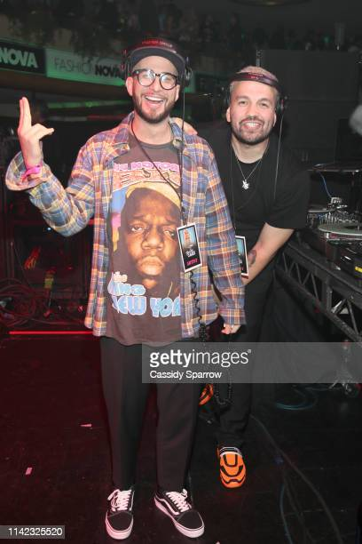 A Leakers are seen as Fashion Nova Presents Party With Cardi at Hollywood Palladium on May 8 2019 in Los Angeles California