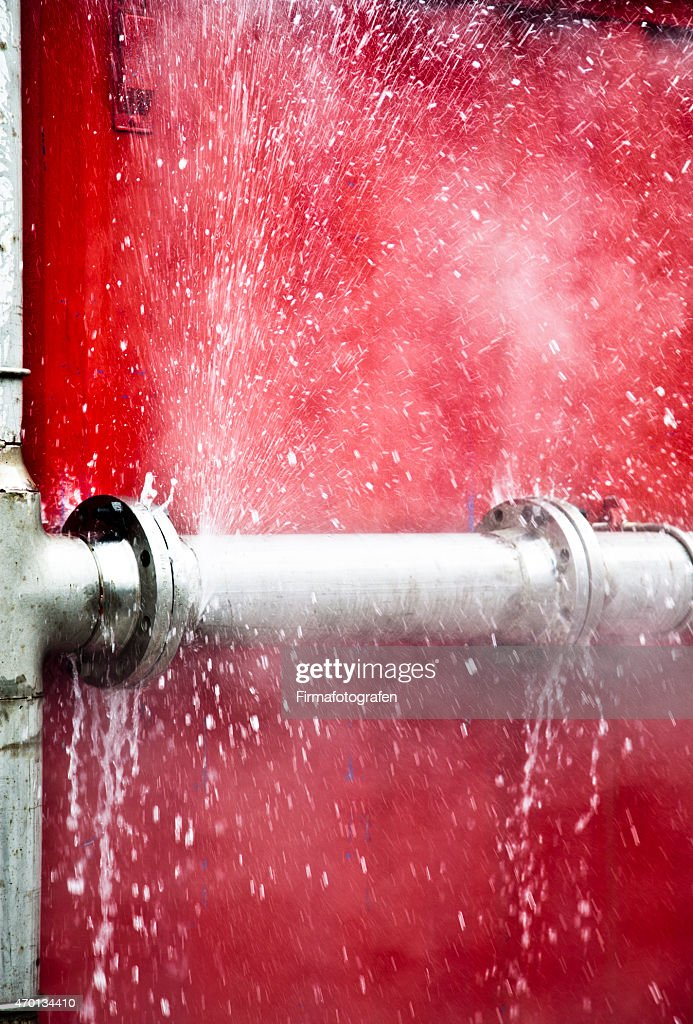 Leaking Pipe : Stock Photo