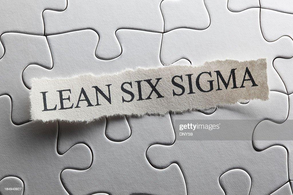 Lean Six Sigma : Stock Photo