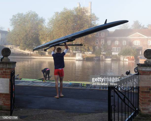 leander club rower - jim donahue stock pictures, royalty-free photos & images