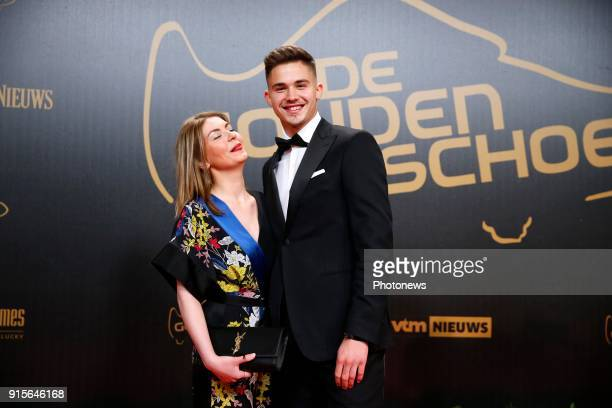 Leander Dendoncker pictured during the 64rd edition of the Golden Shoe Award Ceremony at Paleis 12 on February 07 2018 in Brussels Belgium 7/02/2018