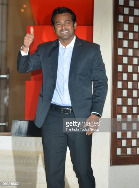 Leander Paes during the dinner party hosted by Nita Ambani for Thomas Bach President of International Olympic Committee in Mumbai