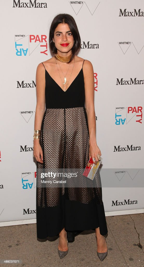Leandra Medine attends the 2014 Whitney Art Party at Highline Stages on May 8, 2014 in New York City.