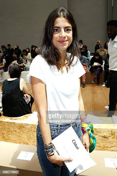 Leandra Medine attends the Chloe show as part of the Paris Fashion Week Womenswear Spring/Summer 2015 on September 28 2014 in Paris France