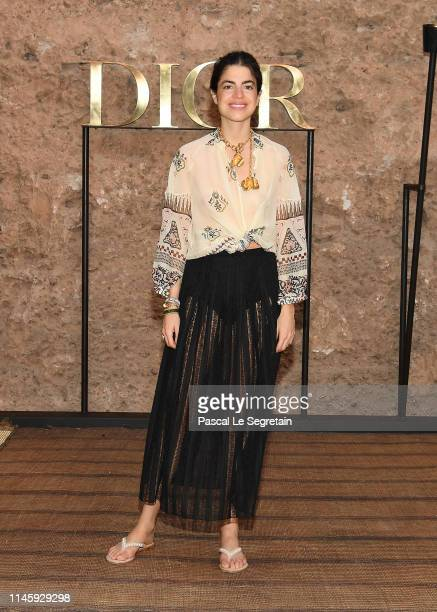 Leandra Medine attends the Christian Dior Couture S/S20 Cruise Collection on April 29 2019 in Marrakech Morocco