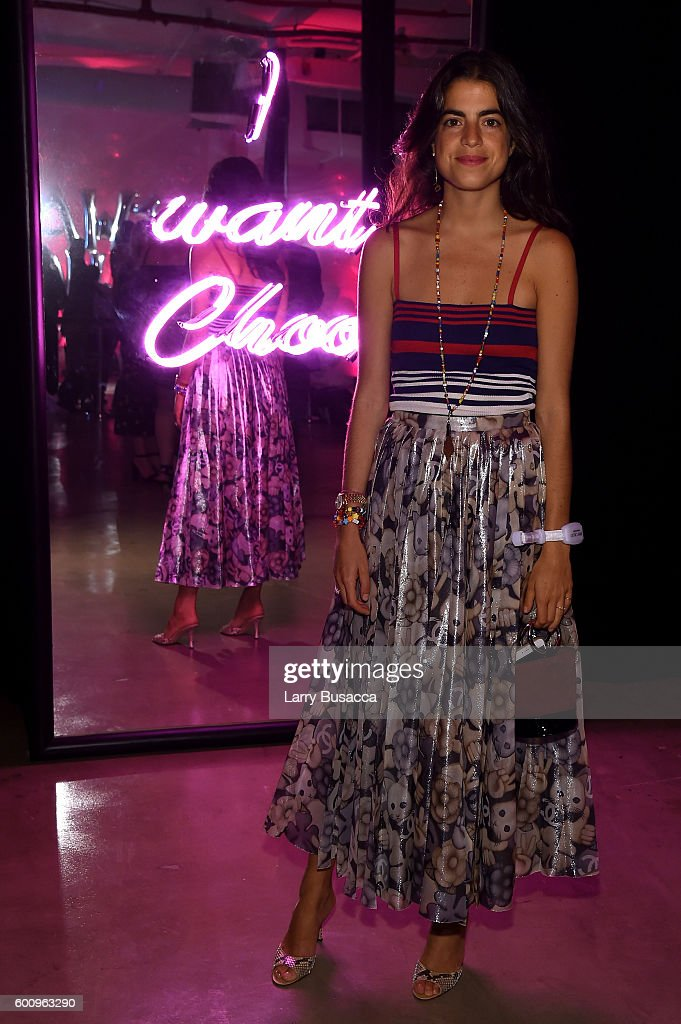 Leandra Medine attends the Jimmy Choo 20th Anniversary Event during New York Fashion Week on September 8, 2016 in New York City.