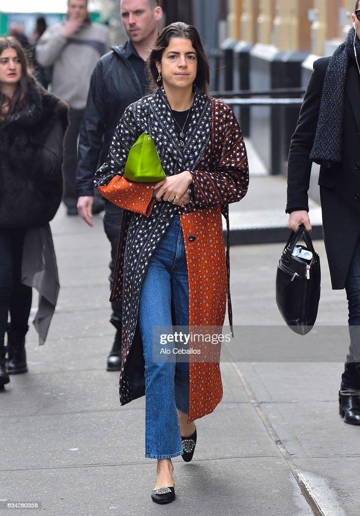 Celebrity Sightings in New York City - February 8, 2017