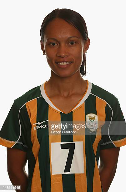 Leandra Smeda of South Africa poses for a portrait on July 21 2012 in Coventry England
