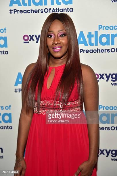 "Le'Andrea Johnson attends ""Preachers of Atlanta"" Screening at 595 North on January 28, 2016 in Atlanta, Georgia."