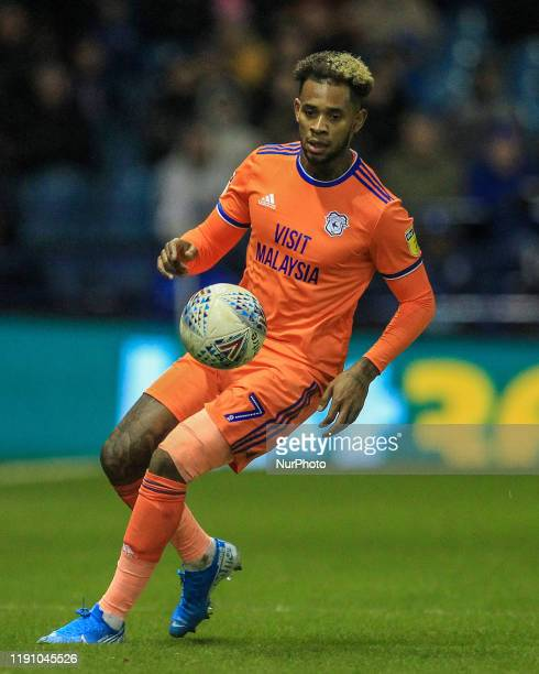 Leandro Bacuna of Cardiff City during the Sky Bet Championship match between Sheffield Wednesday and Cardiff City at Hillsborough, Sheffield on...