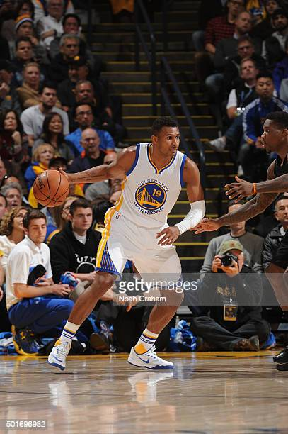 Leandro Barbosa of the Golden State Warriors drives against the Phoenix Suns on December 16 2015 at Oracle Arena in Oakland California NOTE TO USER...