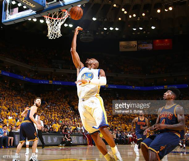 Leandro Barbosa of the Golden State Warriors goes up to shoot during Game Five of the 2015 NBA Finals on June 14 2015 at Oracle Arena in Oakland...