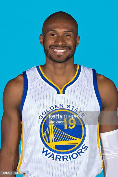 Leandro Barbosa of the Golden State Warriors poses for a photo during Media Day on September 29 2014 at the Warriors practice facility in Oakland...
