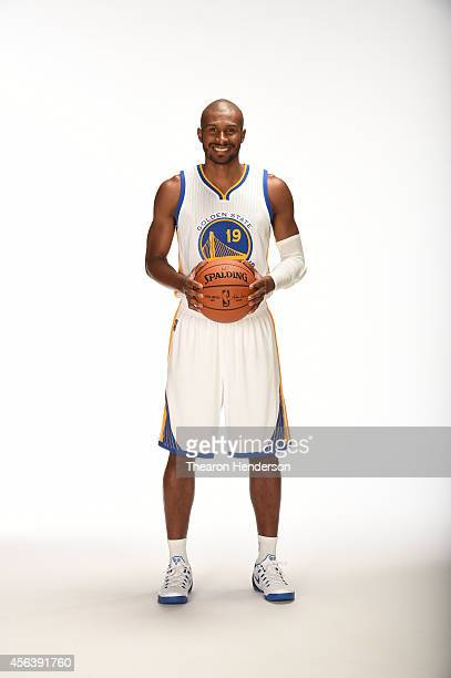 Leandro Barbosa of the Golden State Warriors poses for media day photos on September 29 2014 at the Warriors practice facility in Oakland California...